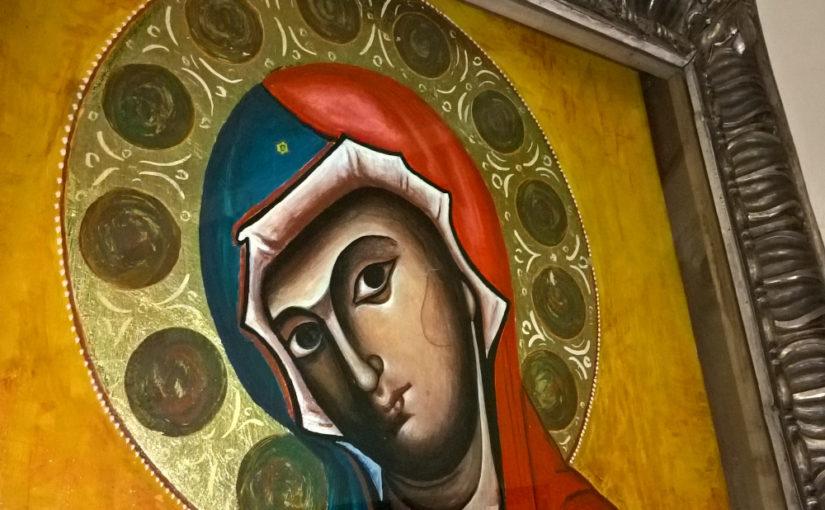 Lettura dell'icona della Madonna del Pilerio